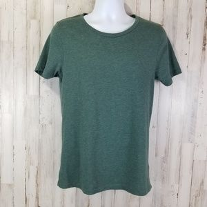 Asos Mens T shirt M Heathered Green Short Sleeve